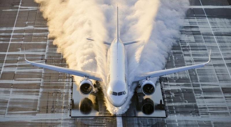 Nueve aviones depegarán este año (Foto Airbus/ V. Ricco).