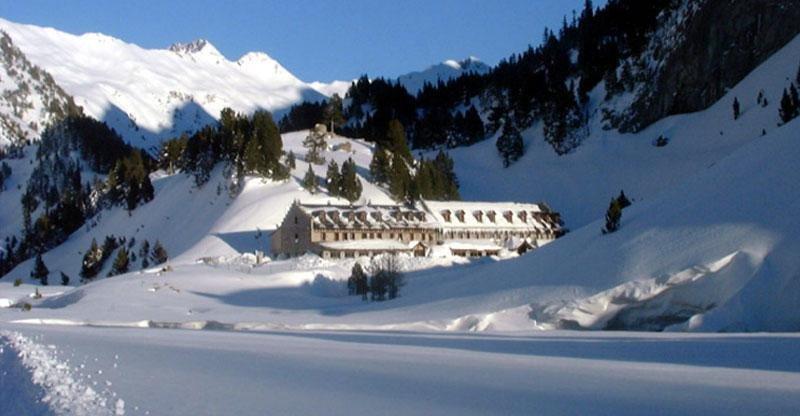 63 personas permanecieron varios días aisladas en un hotel de Huesca por riesgo de aludes