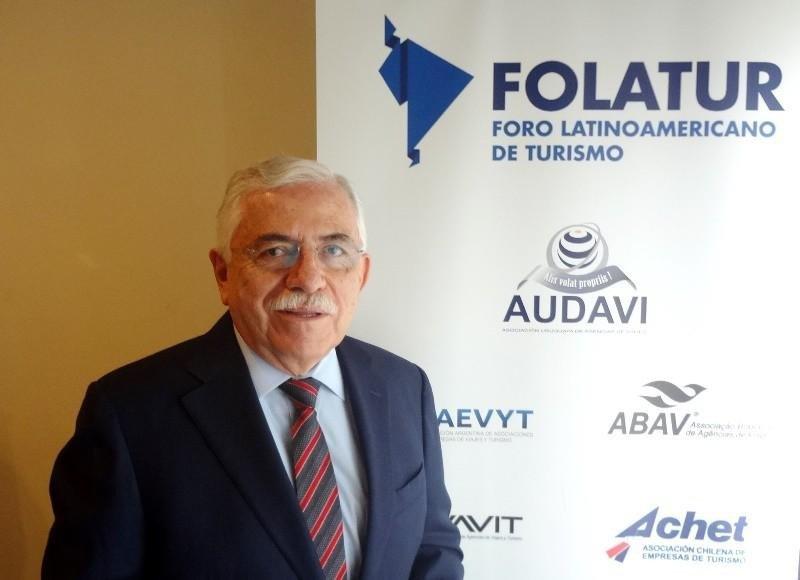 Presidente de GMA (asociación de agencias de viajes y empresas turísticas de México), César Romero.