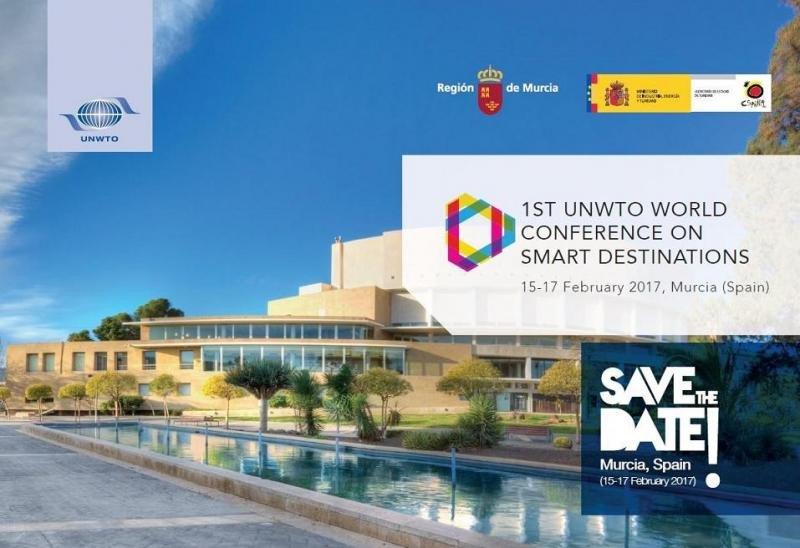 Murcia acoge el primer Congreso Mundial de Destinos Inteligentes de la OMT