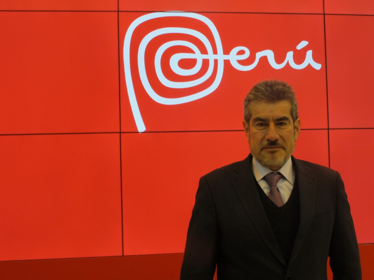 Rogers Valencia, viceministro de Turismo de Perú.