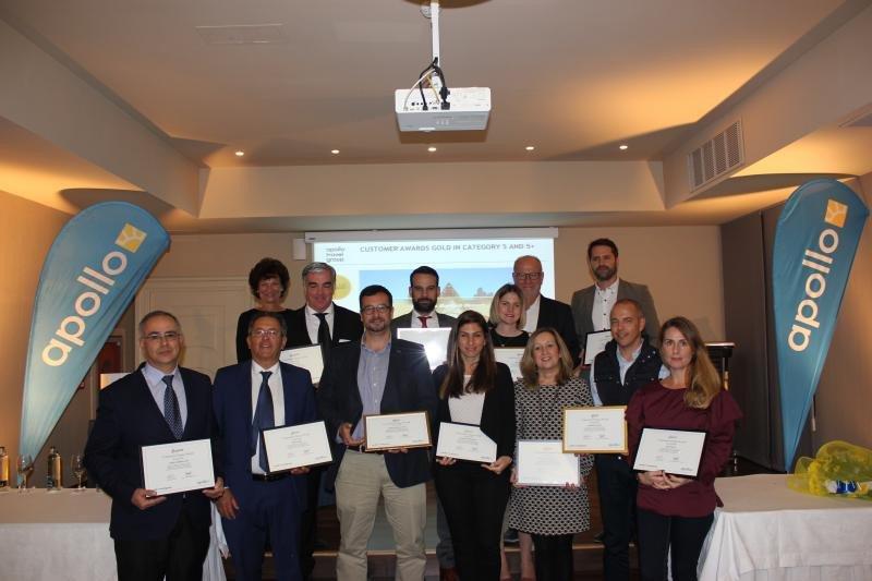 El turoperador Apollo premia a 12 hoteles de Canarias