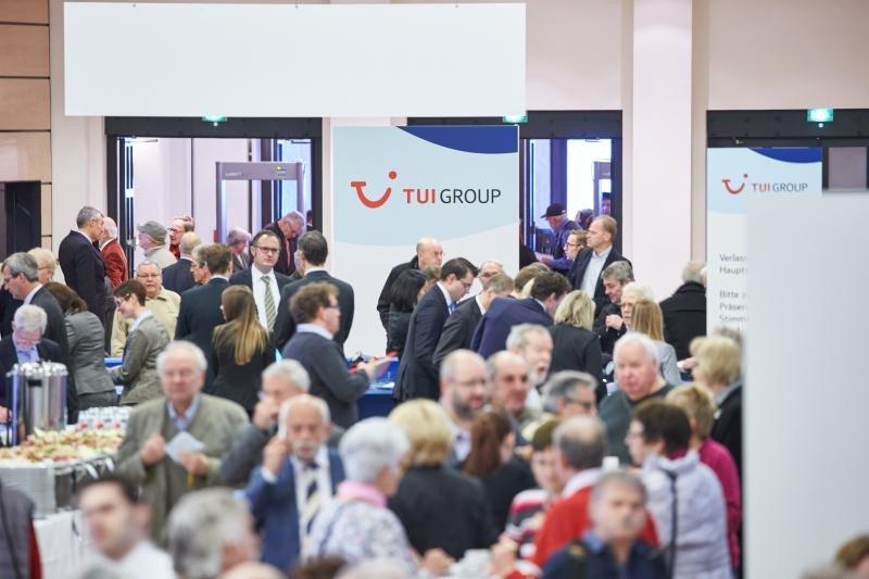 Encuentro anual de inversores de TUI Group en 2016.