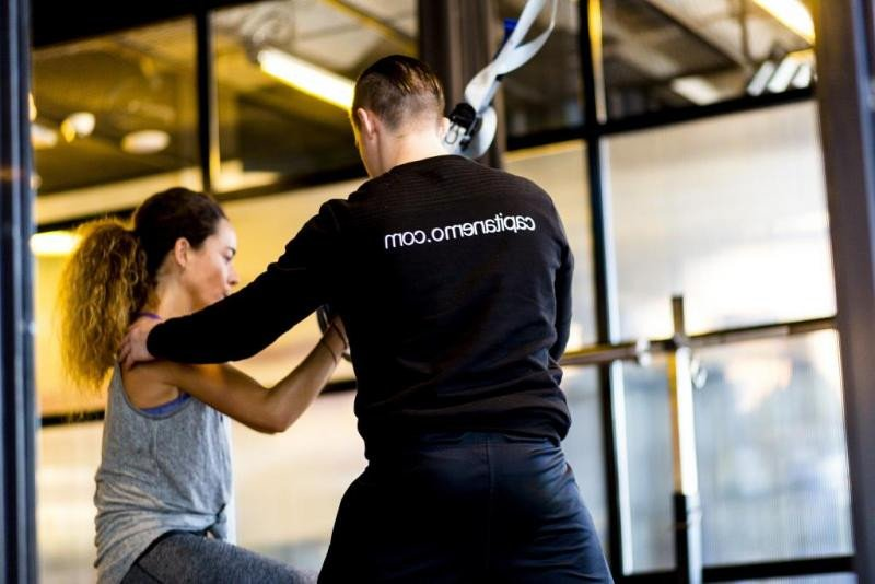 En el Only You Atocha los clientes pueden mantener su práctica deportiva con un entrenador personal.
