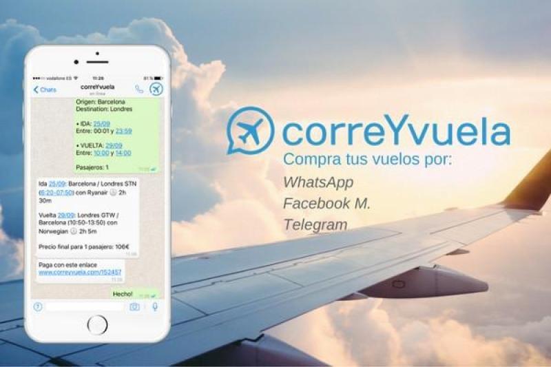 Nace una agencia que vende vuelos por WhatsApp
