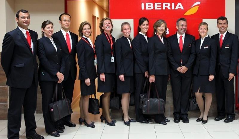 Foto archivo: TCP del Airbus A330-300 de Iberia que operó el vuelo de reinauguración de la ruta Madrid-La Habana (EFE/Alejandro Ernesto).