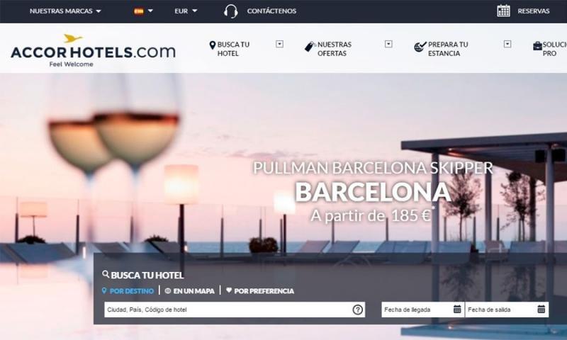 Accor testeará la venta de vuelos a través de su web