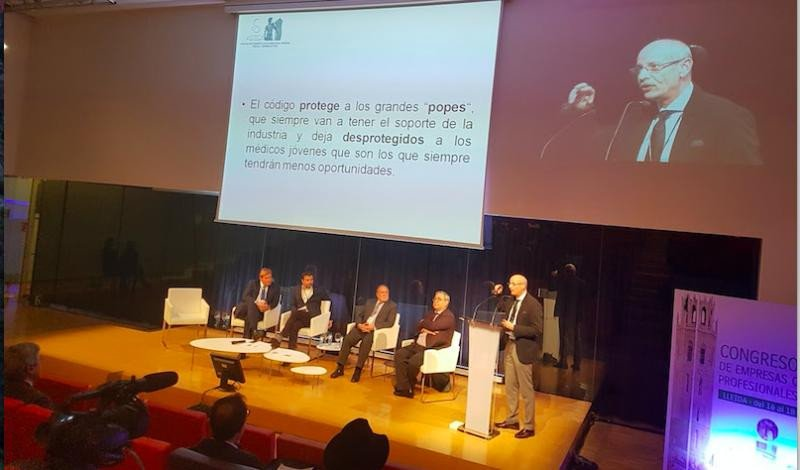 Una imagen del congreso de OPC España, que comenzó este jueves por la tarde en Lleida