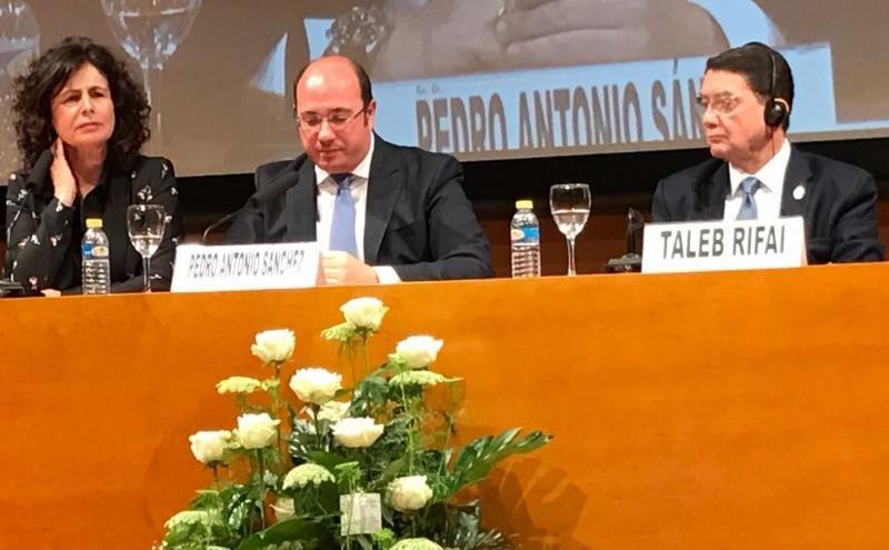 La secretaria de Estado de Turismo, Matilde Asián, inauguró el encuentro de Murcia.