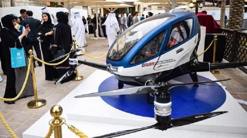 El taxi dron de Dubai