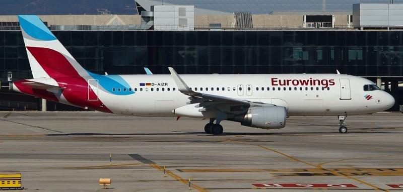 Eurowings cuenta con una flota integrada por unos 120 aviones.