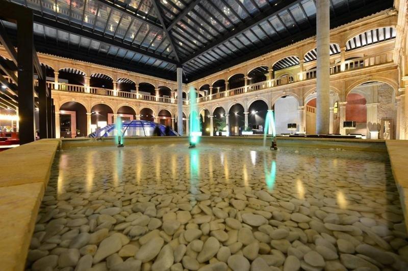 El hotel de Burgo de Osma es uno de los cuatro establecimientos balneario que integran la cadena Castilla Termal.