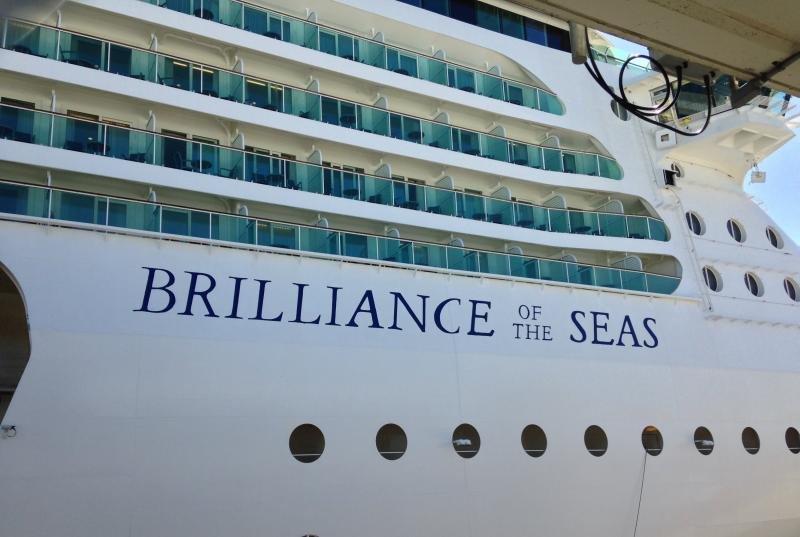 Brilliance of the Seas es uno de los barcos que se verá afectado por la retirada de Turquía.