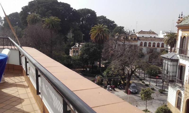 La vista desde la terraza del Hotel Doña Manuela muestra su excelente ubicación.