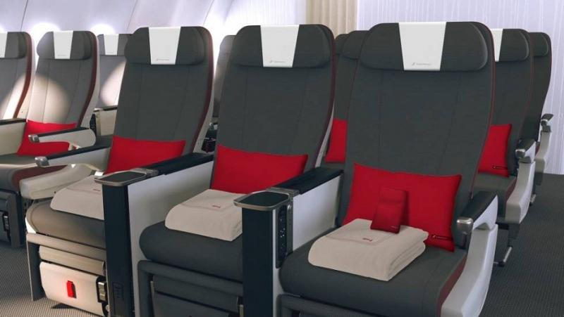 Iberia adelanta el lanzamiento de su clase Turista Premium en Latinoamérica
