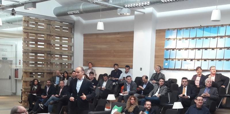 Pepe López de Ayala, director general de Twitter para España y Portugal, en su presentación en el Travel Innovation Summit.