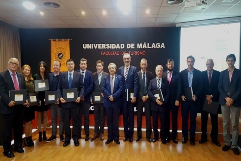AEHCOS es distinguida por la Universidad de Turismo de Málaga