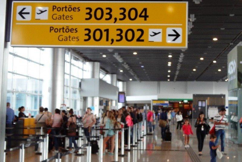 Brasil, el único país en el que cae la demanda aérea