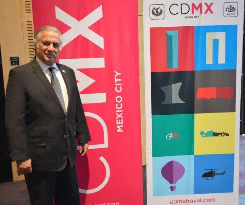 Miguel Torruco Marqués, secretario de Turismo de la Ciudad de México.