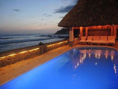 Playa El Zonte, en el Pacífico salvadoreño.