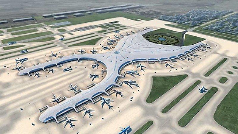 Firman contrato de US$ 4.000 millones para construcción de aeropuerto de México