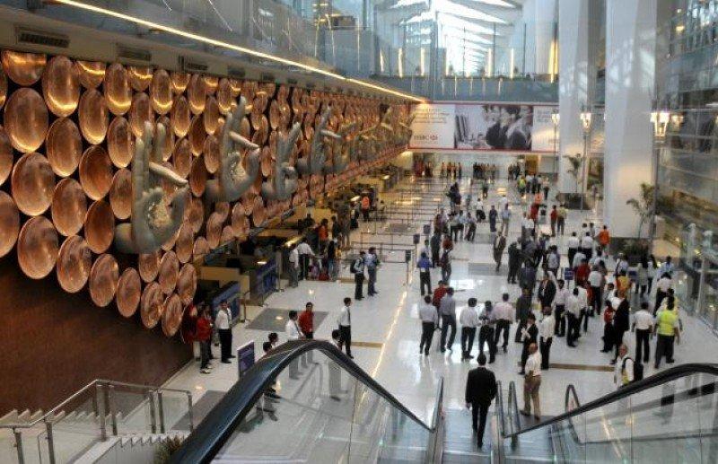 Aeropuerto Indira Gandhi de Nueva Delhi.