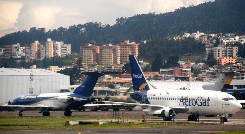 Aeropuerto Mariscal Sucre de Quito.