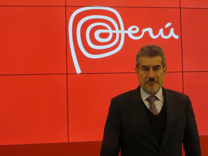Rogers Valencia, ministro de Turismo de Perú.