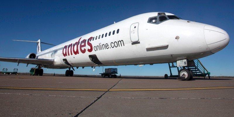 Andes tendrá dos vuelos diarios entre Buenos Aires y Mendoza