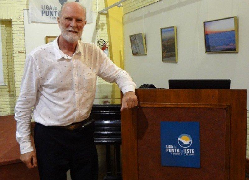 Andrew Beare, presidente de la Liga de Fomento y Turismo de Punta del Este.