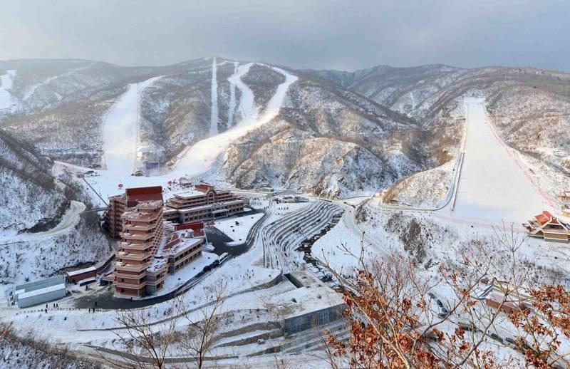 Masikryong, la insólita estación de esquí de Corea del Norte