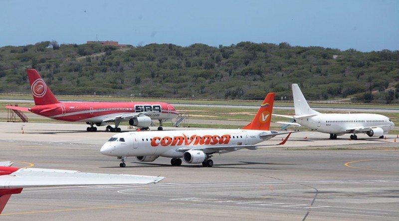 Aeropuerto de Maiquetía.