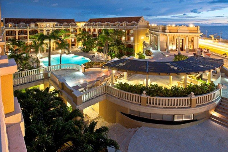 Sofitel Legend Santa Clara, en Cartagena, uno de los hoteles de lujo mas emblemáticos de la cadena Accor.