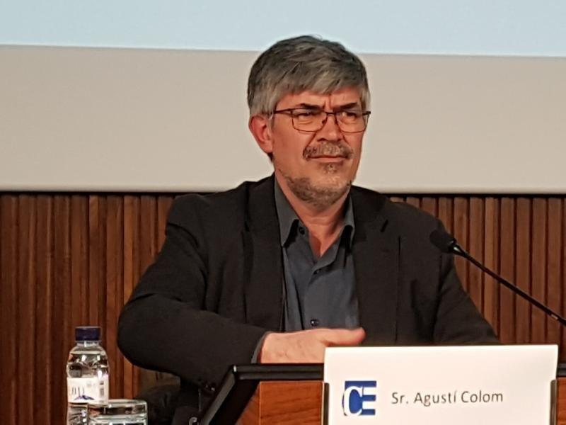 Agustí Colom, concejal de Turismo de Barcelona.