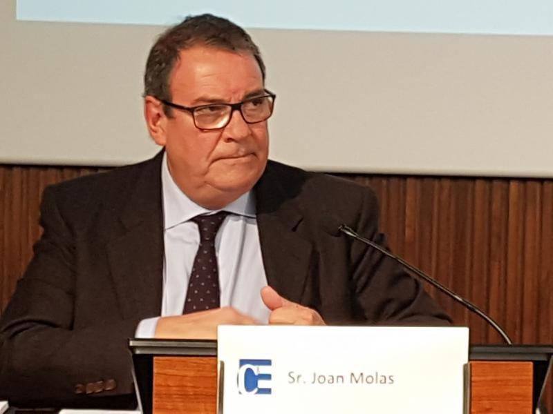 Joan Molas, presidente de la patronal hotelera CEHAT.