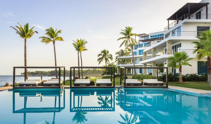 Hotel Gansevoort Playa Imbert, al norte del país.