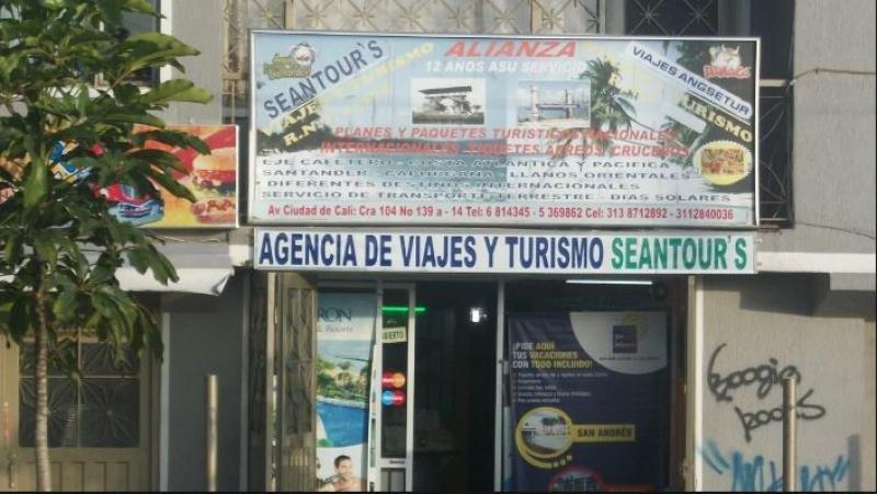 Agencia de viajes de Bogotá.
