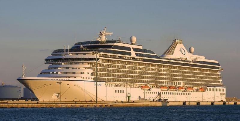 El Marina zarpará de Miami el próximo martes. Foto Wikimedia Commons, Christian Ferrer.