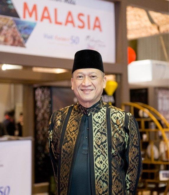 El ministro de Turismo y Cultura, Dato' Seri Mohamed Nazri Aziz.