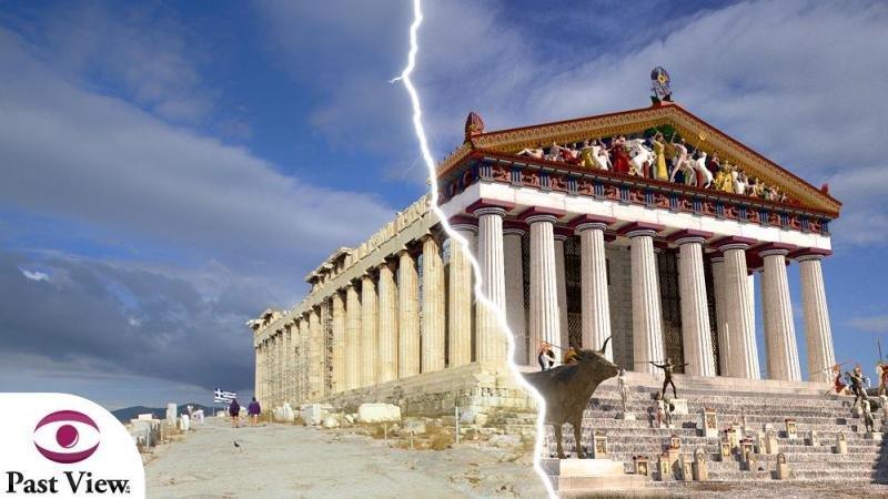 Con las gafas de Past View los turistas pueden comprobar de primera mano cómo eran los monumentos en sus orígenes.