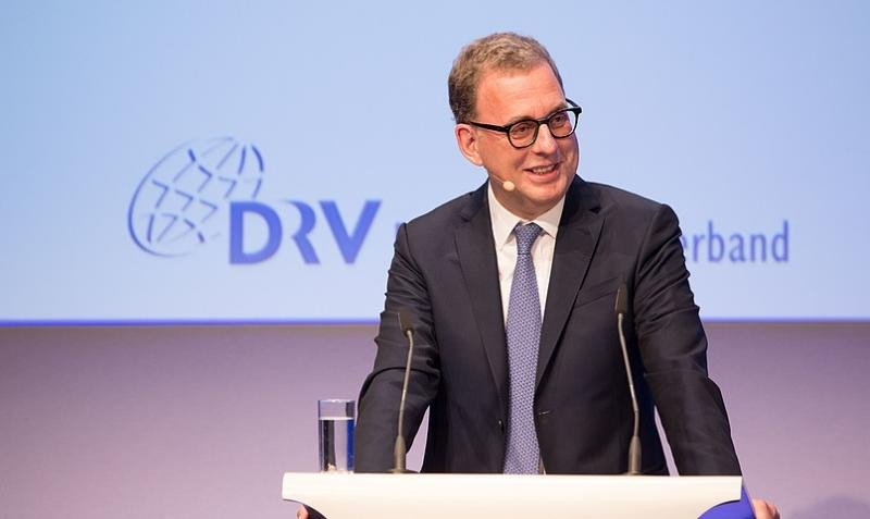 El presidente de la DRV, Norbert Fiebig.