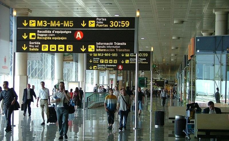 El Aeropuerto de Barcelona-El Prat es el más afectado por lasd cancelaciones.