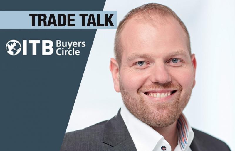 El directivo de TUI Florian Fleischer en la entrevista publicada por ITB Berlin News.