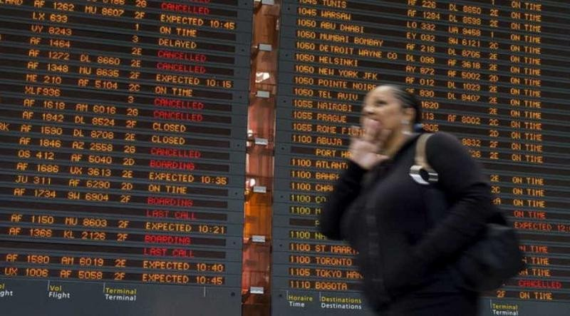 Huelga de controladores: 430 vuelos cancelados en Francia y 46 en España