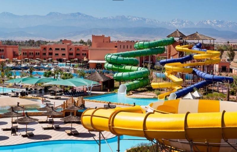 El Labranda Aqua Fun Club, en Marrakech, cuenta con el parque acuático más grande de la región