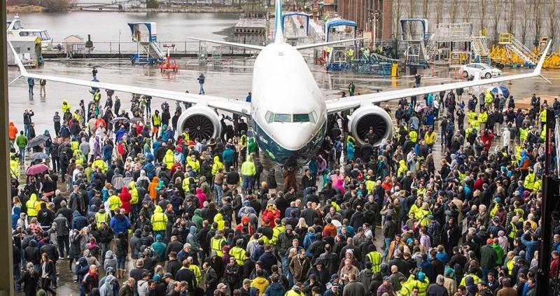 Sale de planta el B737 MAX-9, el avión de menores costes por asiento