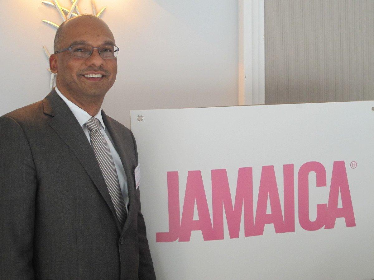 Gregory Shervington, director de la Oficina de Turismo de Jamaica para Europa.