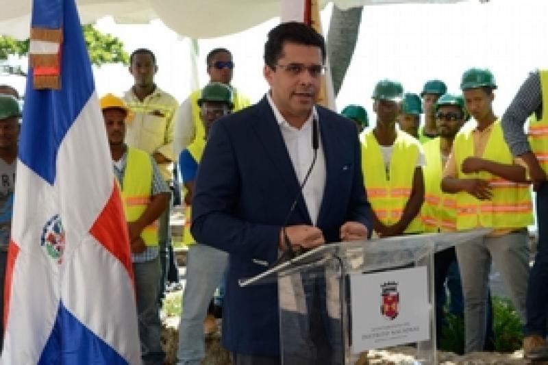 El alcalde del Distrito Nacional de Santo Domingo, David Collado.