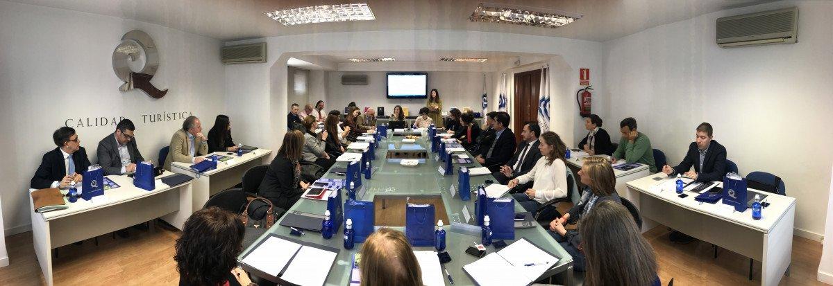 Reunión del Comité Técnico de Normalización del ICTE.