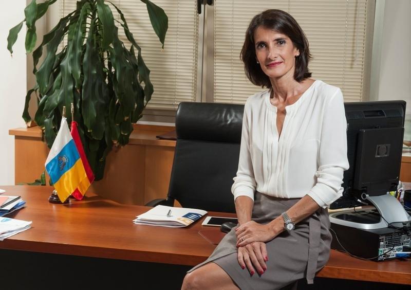 María Teresa Lorenzo, consejera de Turismo, Cultura y Deportes de Canarias